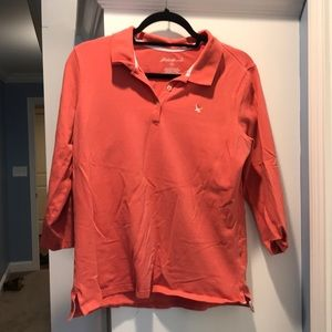 Eddie Bauer 3/4 length shirt